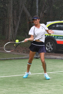 Linda Huang, Doubles Champion, ITF Queensland Junior Winter International