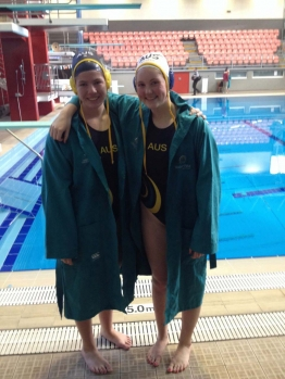Brooke McClean and Mollie Williams represent Australia at the Pan Pacific Championships