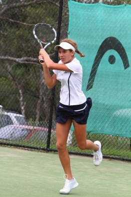 Michaela Haet, ITF South Pacific Open Junior Champion