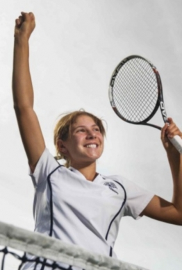 Sixth Tildesley Tennis victory for Meriden