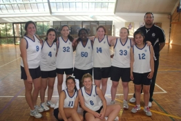 The MER01 team with coach Gerry Hewson