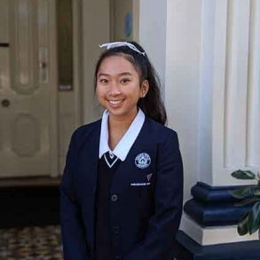 Year 11 student, Chevyone Cheah