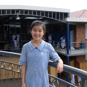 Lily Yang, Australia's representative to the 2016 Broadcom Masters International Program